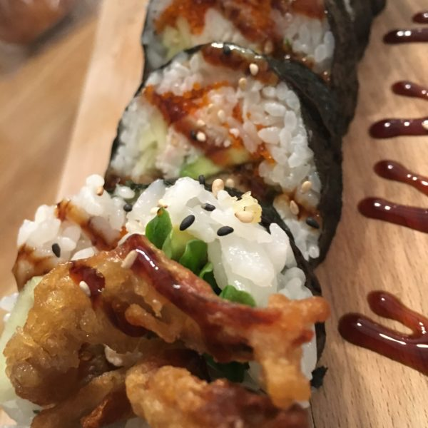 Spider Roll (Miso Scary) 6 Pcs