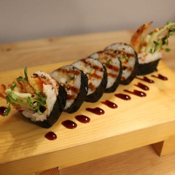 Tempura Roll (Miso Crunchy) 6 Pcs